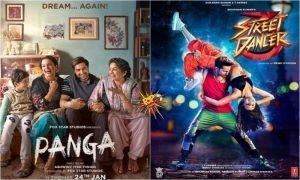 Street Dancer 3D vs Panga