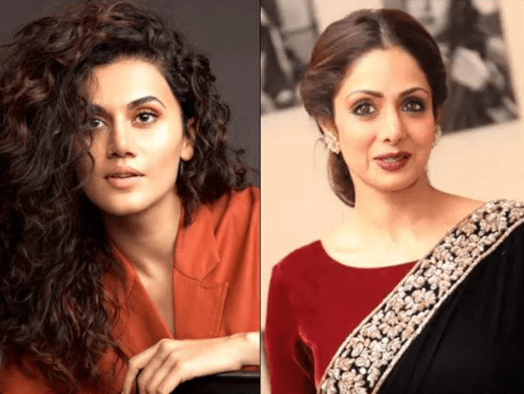 Reaction of 'Thappad' Heroine Taapsee Pannu on being compared to Sridevi