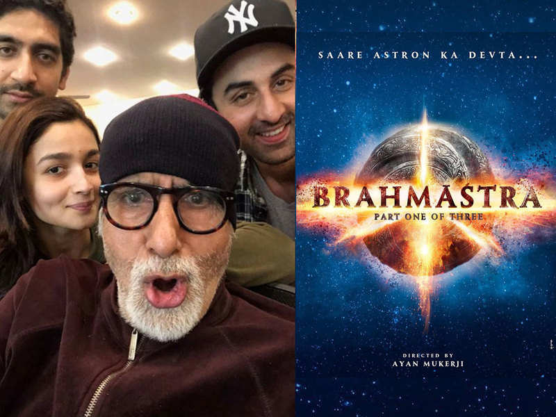 Big B shares his picture with Ranbir Kapoor from the set of 'Brahmastra': Fans get excited