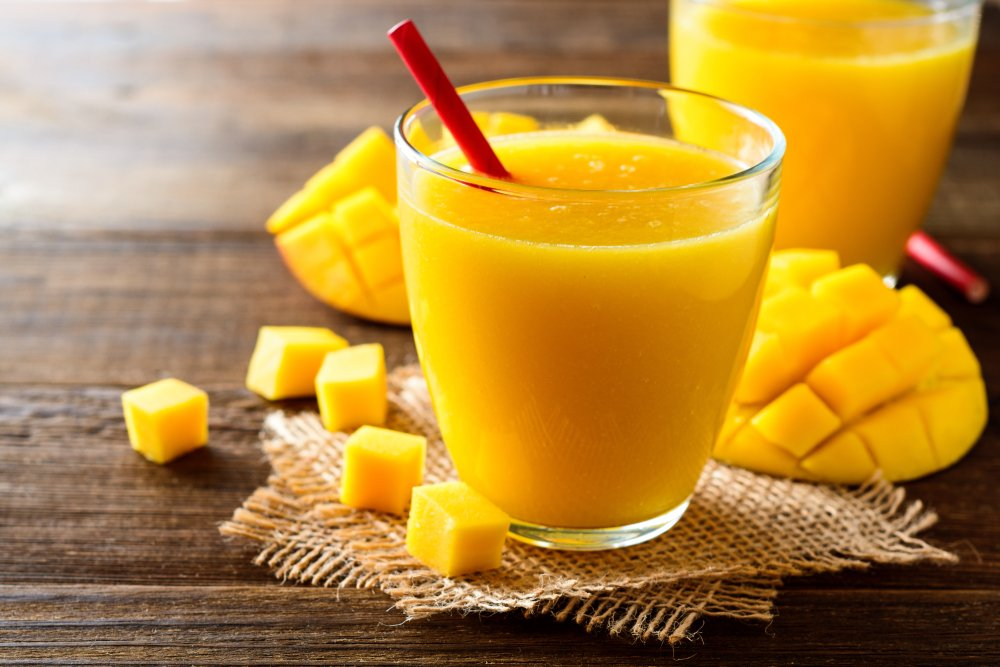 mango juice for skin lightening