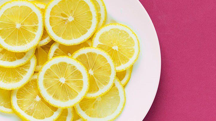 lemon nail paint remover