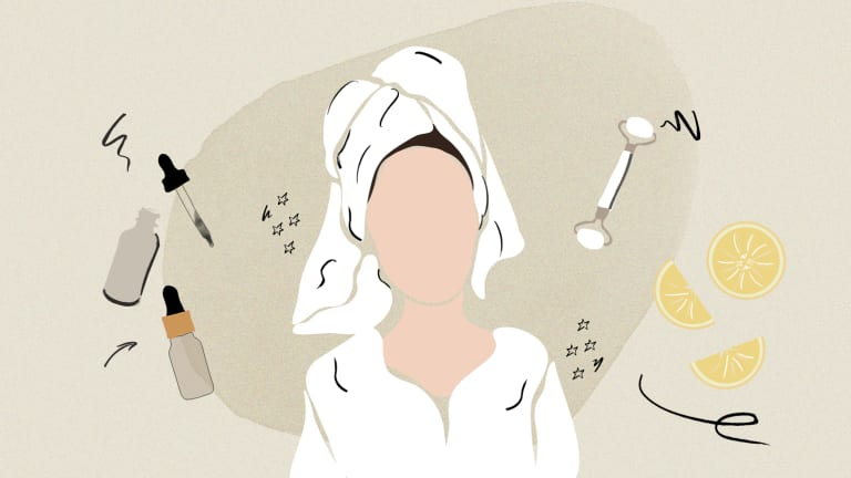 night cleansing routine
