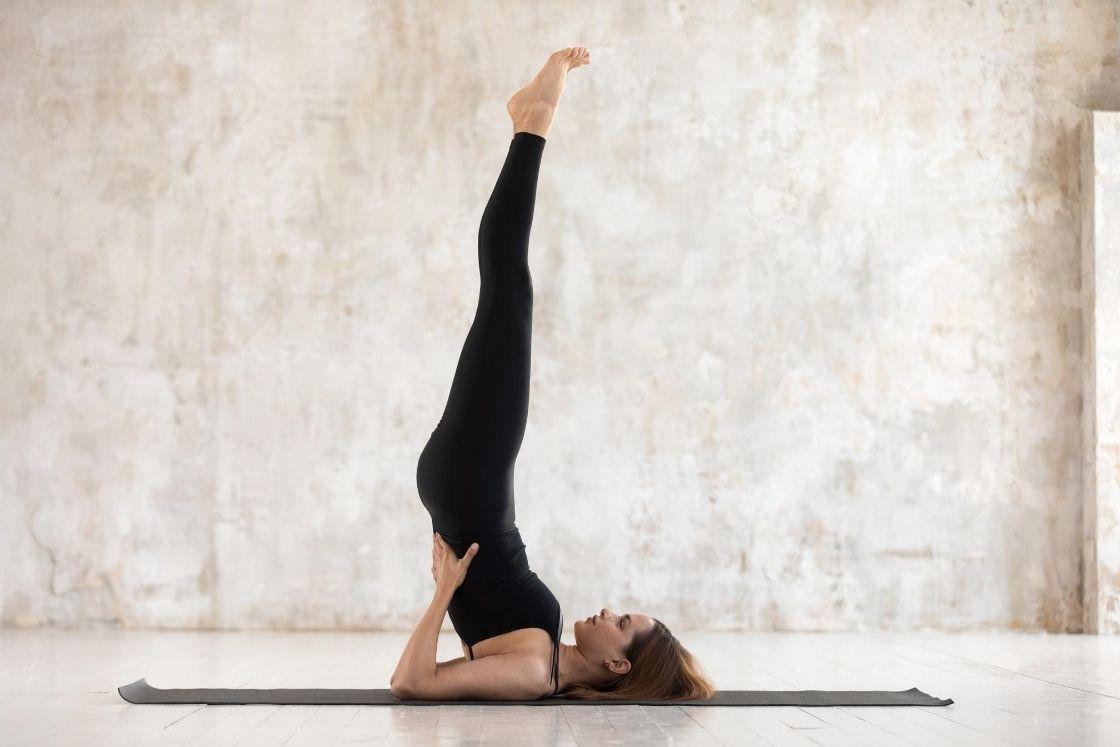 Sarvangasana or Shoulder Pose
