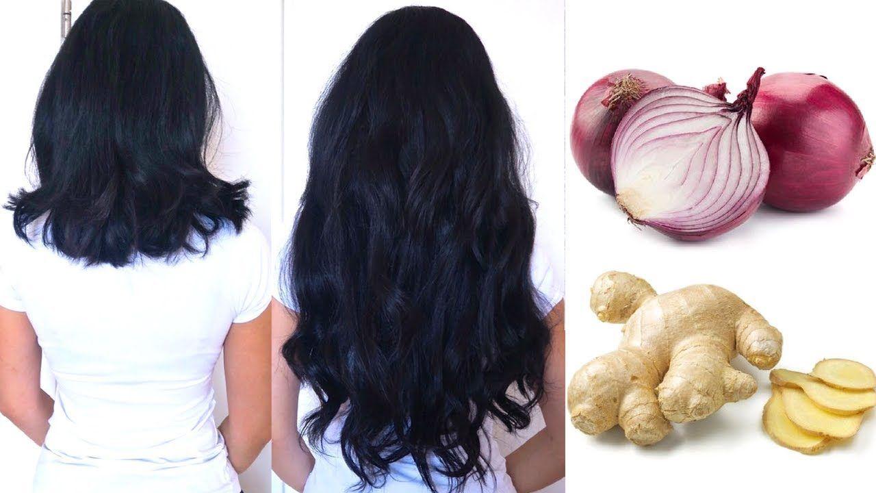 ginger onion for hair