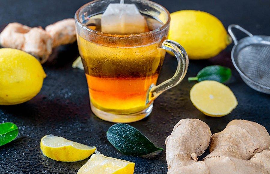 ginger tea for acne